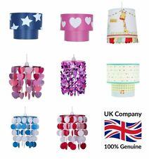 Boys Girls Bedroom Nursery Easy Fit Ceiling Light Lamp Shades Pendant Chandelier