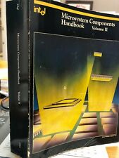 Intel 1984 Microsystem Components Handbook Volume 2 / Free Shipping!