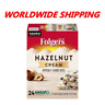 Folgers Hazelnut Cream Flavored Coffee K-Cups 24 Ct WORLDWIDE SHIPPING
