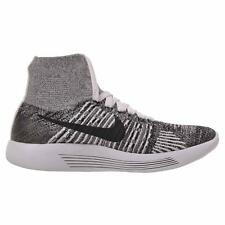 Nike Lunarepic Flyknit Women's Running Shoes (Size 9) White / Black 818677-101