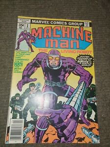 Marvel Comics Machine Man #1