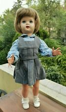 """VINTAGE 50's OR 60s MARIQUITA PEREZ 19 3/4"""" DOLL WITH FLIRTY EYES & DRESS OUTFIT"""