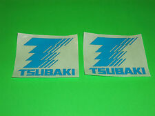 TSUBAKI ROLLER CHAINS SPROCKET TRANSMISSION MOTOCRCYCLE MOTOCROSS STICKERS DECAL