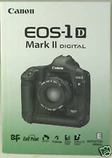 Canon EOS 1D II Instruction Owners Manual EOS1DII Book