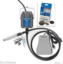 FOREDOM KIT K.TXH440 INDUSTRIAL KIT HEAVY DUTY FLEXIBLE SHAFT 115v METALWORKING