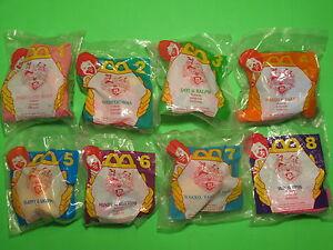 1995 McDonalds - McDonalds Animaniacs II set of 8 *MIP*