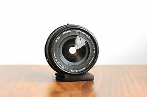 SIGMA (for Pentax PK Bayonet) Super-Wide II  24mm f/2.8  Lens  * Made in Japan *