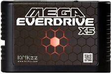 Mega everdrive X5 megadrive MEGA DRIVE SEGA Krikzz jamais Lecteur Micro SD NEUF