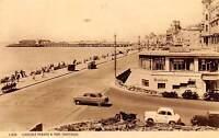 Carlisle Parade & Pier Vintage Cars Voitures Queen's Bar Promenade Hastings