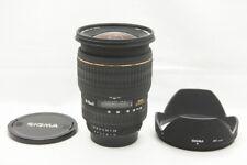 SIGMA 24-70mmD F2.8 EX DG ASPHERICAL AF Lens for Nikon F Mount w/ Hood #200924d