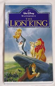 New Disney The Lion King VHS Movie Tape Illusion Notebook Disney Parks Journal