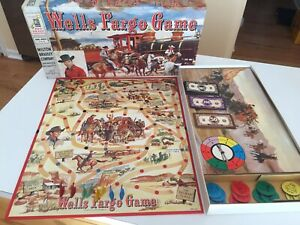 VINTAGE 1959  TALES OF WELLS FARGO Game 100% complete in box NICE!