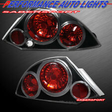 Set of Pair Black Altezza Style Taillights for 2000-2005 Mitsubishi Eclipse