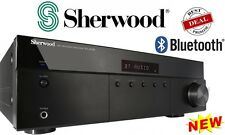 Sherwood RX-4508 Stereo Amplifier / Receiver w/ Bluetooth + Phono Input - NEW
