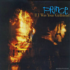 """PRINCE 12"""" If I Was Your Girlfriend / Shockadelica EXTENDED 2017 Vinyl + PROMO"""