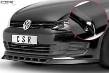Cup Spoiler Front Ansatz Lippe Schwert für VW Golf 7 VII Hochglanz 08/2012-2017