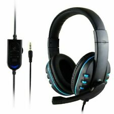 Wired Gaming Stereo Headphones Microphone Headset Headhand For PS4/ XBOX-ONE/ PC
