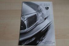 96882) Lancia Lybra + SW - Preise & tech. Daten & Ausstattungen - Prospekt 01/20