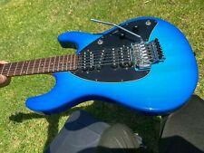 1994 Music Man Steve Morse Signature Model - Floyd Rose- Blue burst
