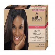 DR MIRACLE'S -  NO-LYE RELAXER - REGULAR (RELAX) KIT