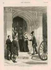 1873-Antiguo Persia Irán Shah impresión Berkshire Reina Castillo de Windsor (172)