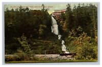 Vintage Early 1900's Wau Guin Falls & Hotel Hood River Oregon POSTED
