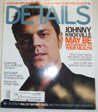 Details Magazine Johnny Knoxville & Underground Iran June/July 2002 031315R