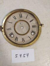 ANTIQUE WATERBURY MANTLE CLOCK DIAL