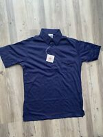 Vintage Bowling Polo Shirt Mens Medium 34-36 by King Louie NWT Made In USA Blue