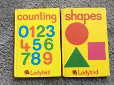 2 x Ladybird Early Learning Series Books 1980s series 563