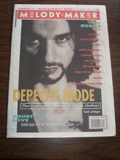 MELODY MAKER 1993 APRIL 3 PRINCE DEPECHE MODE COURTNEY LOVE ICE CUBE JAYHAWKS