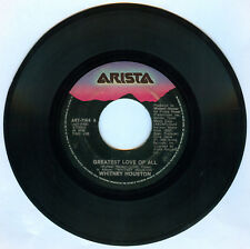 Philippines WHITNEY HOUSTON Greatest Love Of All 45 rpm Record