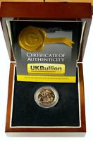 2015 BU Great Britain Queen Elizabeth II Full Gold Sovereign Coin