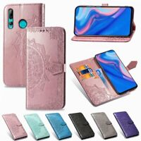 Case For Huawei Honor 9X Slim Leather Cover Mandala Flip Wallet Book Phone Case