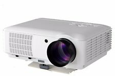4000 Lumen 1080P Native Multimedia Home Theater HDMI USB LCD Panel LED Projector