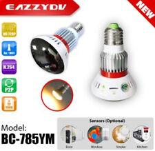 HD 720P Wifi Bulb Lamp Camera CCTV Security Hidden Spy Nanny Surveillance