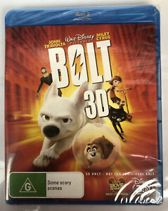 C600 Walt Disney Pictures Bolt 3D Brand New Sealed Blu-Ray
