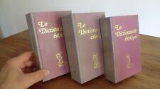 3 livres anciens le dictionnaire érotique en 3 tomes encyclopedie sexologie rare