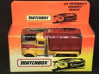 Matchbox #23 Peterbilt Quarry Truck Unopened Box 1993