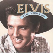 ELVIS PRESLEY GREAT COUNTRY SONGS REMASTERED CD NEW