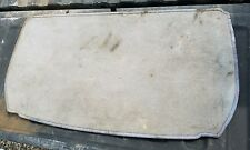 2002-2010 Lexus SC430 Rear Trunk Cargo Carpet Floor Mat Tray Cover used OEM Tan