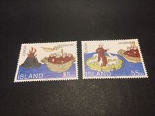 Iceland stamp 780-781 MH