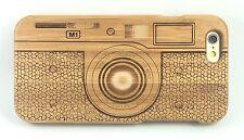 iPhone 6/6S Bamboo Wood Case ( Camera Laser Engraving ) 100% Genuine Wood✔️