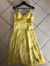 Mathew Eager Yellow Silk Dress 12
