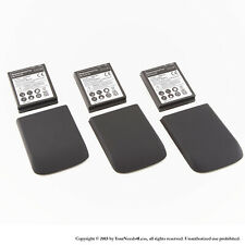 3 x 3500mAh Extended Battery for HTC MyTouch 4G Black Cover