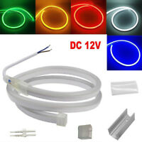 3m DC12V LED neon flex Waterproof commercial sign out door Rope lighting CE&ROHS