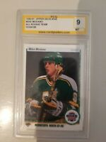 1990-91 Upper Deck Mike Modano PCG 9 MT! Rookie!
