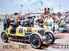 Drawing Packard Cable Special Indy Car automobile print ca 8 x 10 print poster