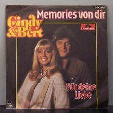 "(o) Cindy & Bert - Memories Von Dir (7"" Single)"
