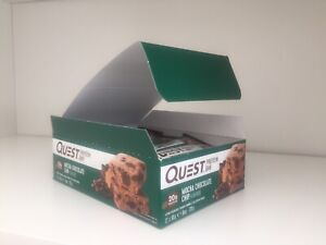 NEW 2020 Quest Nutrition Protein Bars 12 Pack - Mocha Chocolate Chip, Grenade